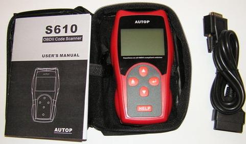 Autop S610 ODBII, Autop S610, Autop S-610, S610, S-610, s600, s-600, obdii, obd ii, obd2, obd 2, odbii, odb ii, odb2, odb 2, obd scanner, handheld scanner, J1850 PWM, J1850 VPW, KWP2000, ISO9141, CAN-BUS, ОБД, ОБД2, ОБД2 сканер