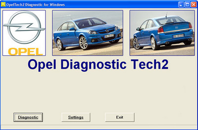 Opel Tech2 Diagnostic Software